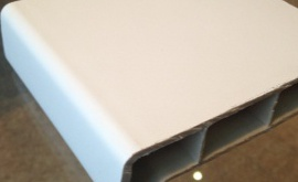 Пластиковые подоконники Moeller белый матовый